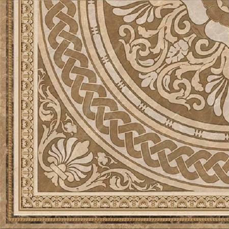 Декор напольный 45*45 Ros. Majestic-D Crema (уп. 1 м2/ 5 шт)