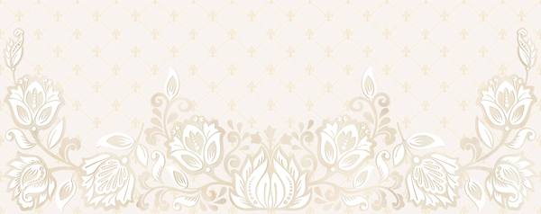 Настенная плитка 20,1*50,5 Aurelia Royal Flores Crema (уп. 1,52 м2/ 15 шт)
