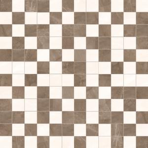 Мозаика 29,4*29,4 Amani Avorio/Marron