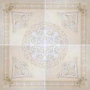Декор напольный 90*90 Dec. Carlo Marfil