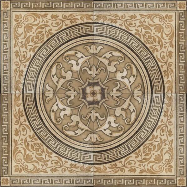 Декор напольный 90*90 Dec. Alhambra Marron