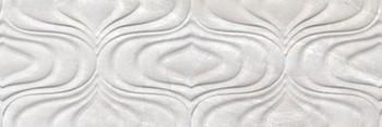 Настенная плитка 30*90 Rev. Fontana Twist Ice (уп. 1,08 м2/ 4 шт)