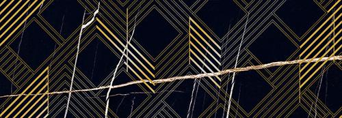 Декор 24.2*70 Royal Nero Oro