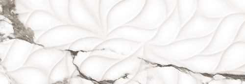 Настенная плитка 24.2*70 Royal Bianco Rel. Rect. (уп.1,02 м2/ 6 шт)