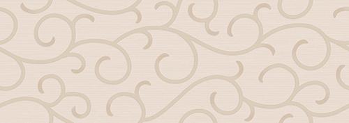 Настенная плитка 25,1*70,9 Venice Ricciolo Crema (уп. 1,25 м2/ 7 шт)